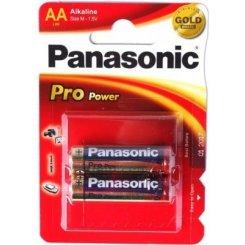Фото Panasonic AA (LR06) Pro Power 2шт (LR6XEG/2BPR)
