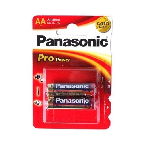 Фото Батарейки Panasonic AA (LR06) Pro Power 2шт (LR6XEG/2BPR)