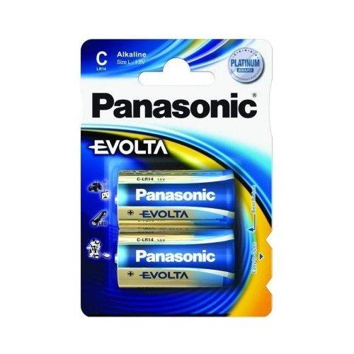 Фото Батарейки Panasonic D (LR20) Evolta 2шт (LR20EGE/2BP)