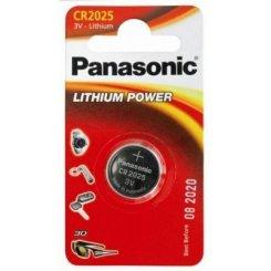 Фото Panasonic CR2025 Lithium 1шт (CR-2025EL/1B)