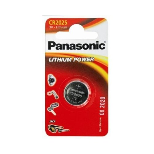 Фото Батарейки Panasonic CR2025 Lithium 1шт (CR-2025EL/1B)