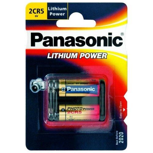 Фото Батарейки Panasonic 2CR-5L Lithium 1шт (2CR-5L/1BP)