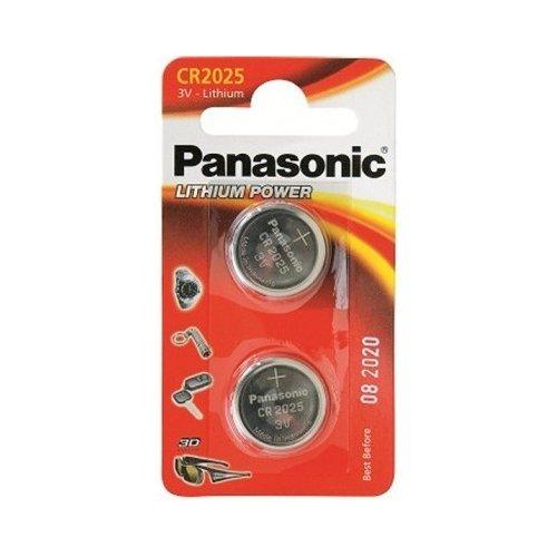 Фото Батарейки Panasonic CR2025 Lithium 2шт (CR-2025EL/2B)