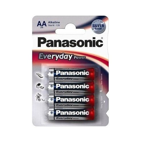 Фото Батарейки Panasonic AA (LR06) Everyday Power 4шт (LR6REE/4BR)