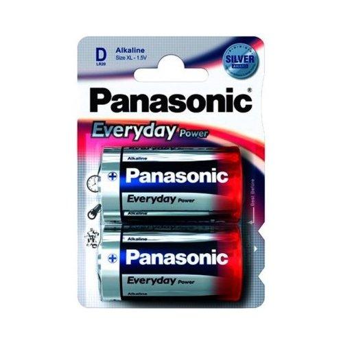 Фото Батарейки Panasonic D (LR20) Everyday Power 2шт (LR20REE/2BR)