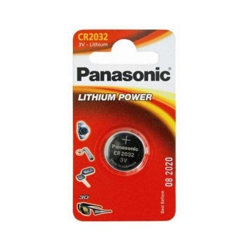 Фото Батарейки Panasonic CR2032 Lithium 1шт (CR-2032EL/1B)