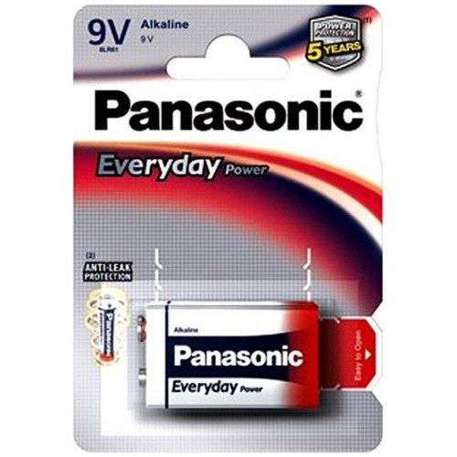 Фото Батарейки Panasonic Krona (6LR61) Everyday Power 1шт (6LF22REE/1BR)