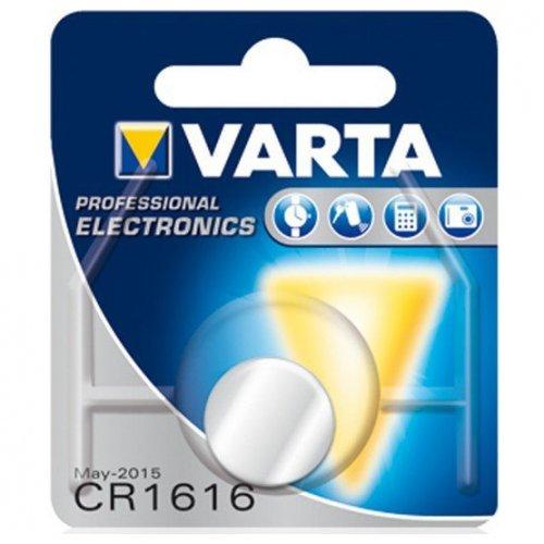 Фото Батарейки Varta CR1616 Lithium 1шт (06616101401)