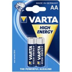 Фото Varta AAA (LR03) High Energy 2шт (04903121412)