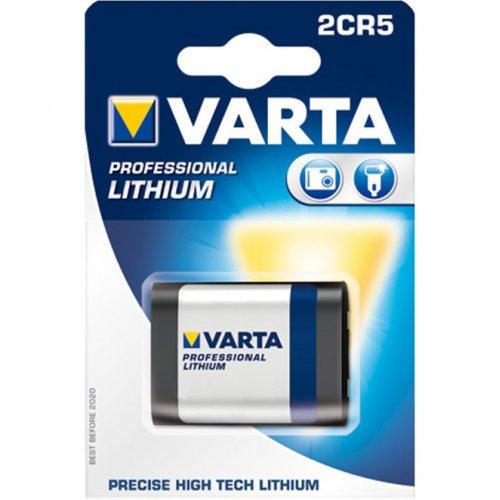 Фото Батарейки Varta 2CR5 Lithium 1шт (06203301401)