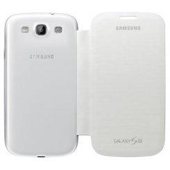 Фото Чехол Samsung Book Cover I9300 (EFC-1G6FWECSTD) Marble White