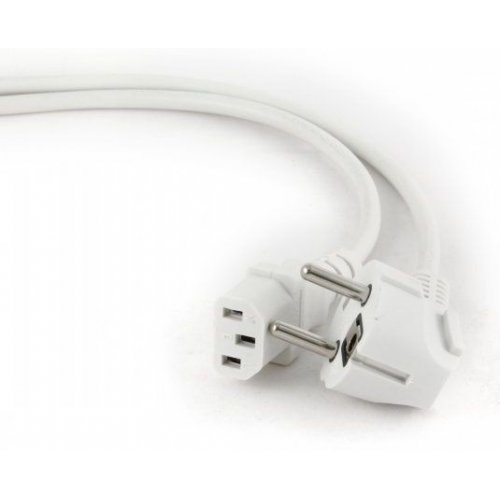 Фото Кабель питания Cablexpert CEE 7/7-C13 1.8m VDE 0,75mm PC (PC-186W-VDE)