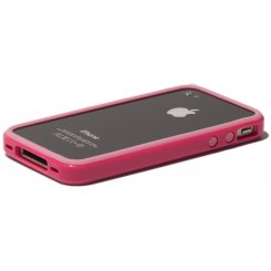 Фото Чехол Verus Crutial Mix Bumper Apple iPhone 4S Pink/Pink