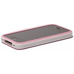 Фото Чехол Verus Crutial Mix Bumper Apple iPhone 4S Pink/White