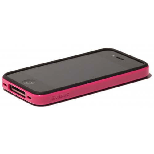 Фото Чехол Verus Crutial Mix Twin Apple iPhone 4S Black/Pink