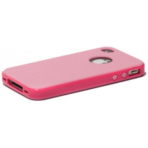 Фото Чехол Verus Crutial Mix Twin Apple iPhone 4S Pink/Pink
