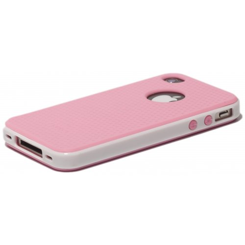 Фото Чехол Verus Crutial Mix Twin Apple iPhone 4S Pink/White