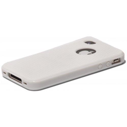 Фото Чехол Verus Crutial Mix Twin Apple iPhone 4S White/White