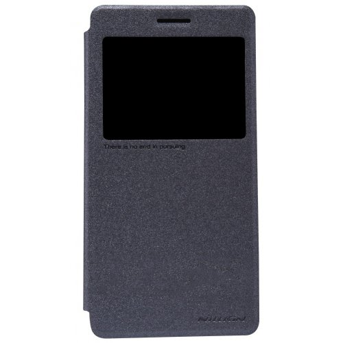 Фото Чехол Чехол Nillkin Sparkle Series для Lenovo A6000/A6010 Black