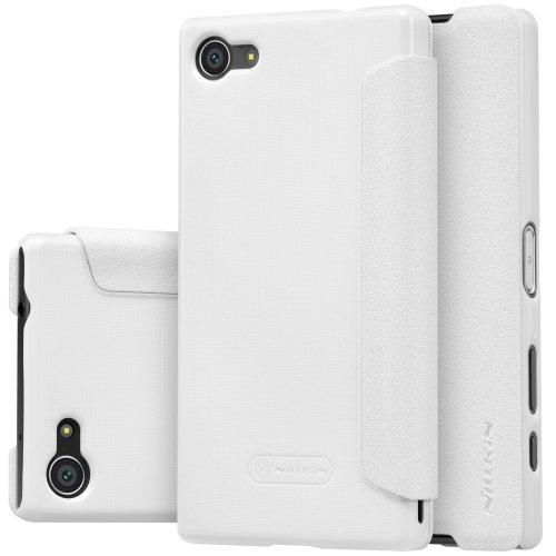 Фото Чехол Чехол Nillkin Sparkle Series для Xperia Z5 Compact White