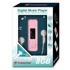 Фото Transcend T-Sonic 330 8GB Pink