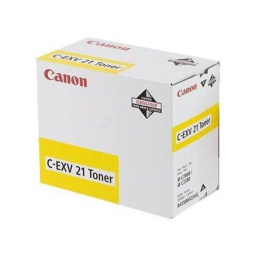 Фото Картридж Canon C-EXV21 (0455B002) Yellow