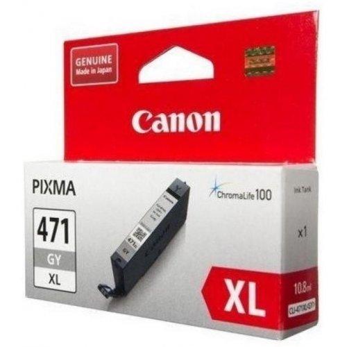 Фото Картридж Canon CLI-471XL (0350C001) Grey