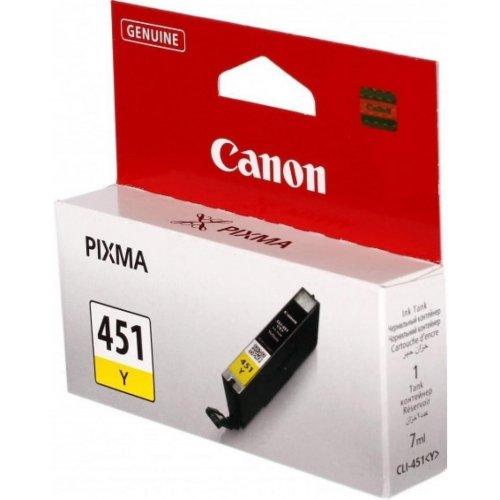 Фото Картридж Canon CLI-451 (6526B001) Yellow