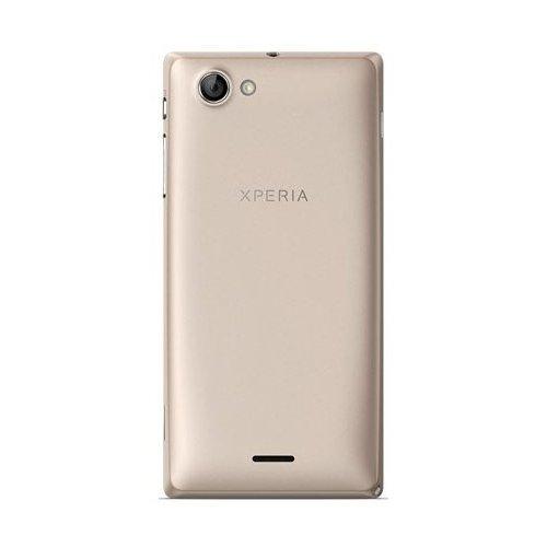 Фото Смартфон Sony Xperia J ST26i Gold