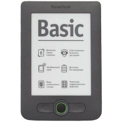 Фото Электронная книга PocketBook 613 Basic New Dark Grey