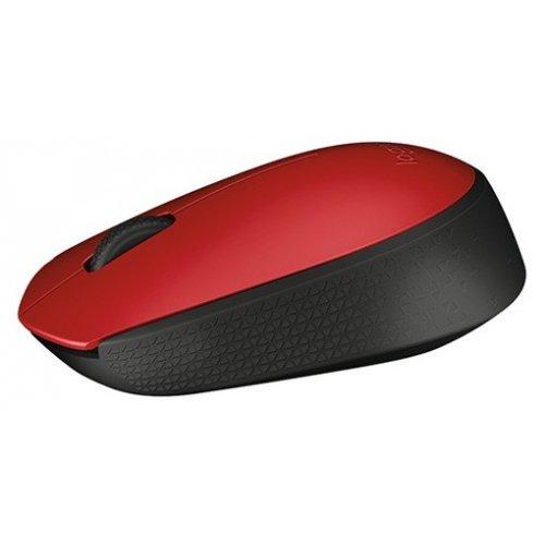 Фото Мышка Logitech Wireless Mouse M171 Red