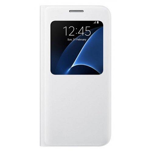 Фото Чехол Чехол Samsung S View Cover для Galaxy S7 G930 (EF-CG930PWEGRU) White