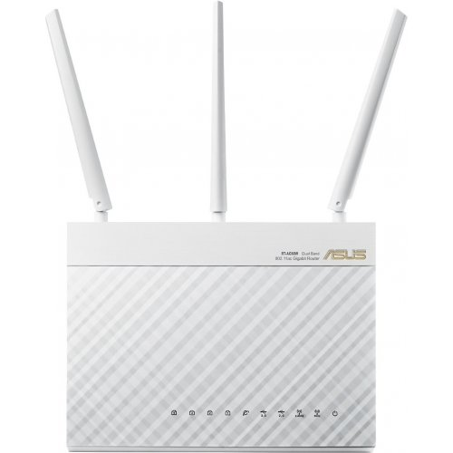 Фото Wi-Fi роутер Asus RT-AC68U Ai Mesh Router White