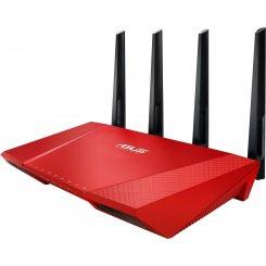 Фото Wi-Fi роутер Asus RT-AC87U Red