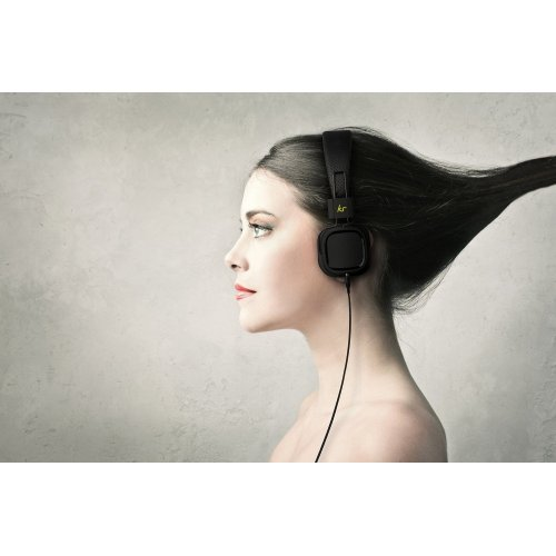 Фото Наушники KitSound Clash On-Ear Black
