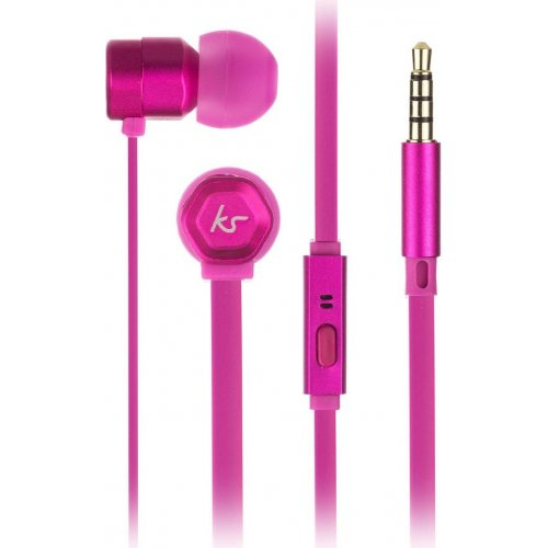 Фото Наушники KitSound Hive In-Ear Pink