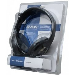Фото Наушники SVEN AP-670MV Black