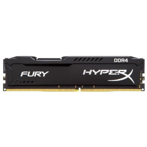 Фото ОЗУ Kingston DDR4 4Gb 2400Mhz HyperX FURY Black (HX424C15FB/4)