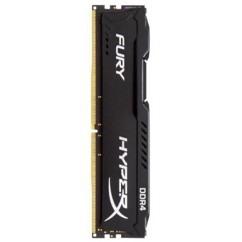 Фото ОЗУ Kingston DDR4 4Gb 2400Mhz HyperX FURY Black (HX424C15FB/4)