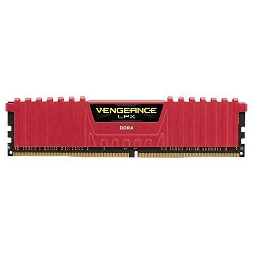 Фото Corsair DDR4 8GB 2400Mhz Vengeance LPX Red (CMK8GX4M1A2400C14R)