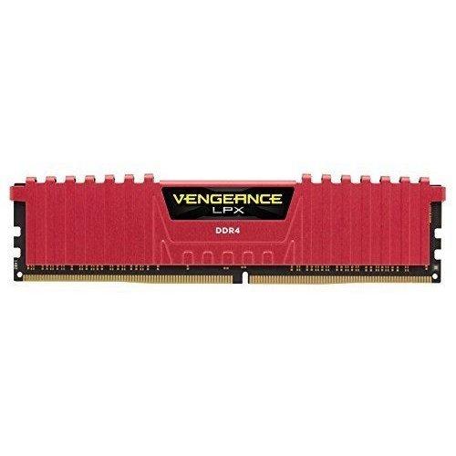 Фото ОЗУ Corsair DDR4 8GB 2666Mhz Vengeance LPX Red (CMK8GX4M1A2666C16R)