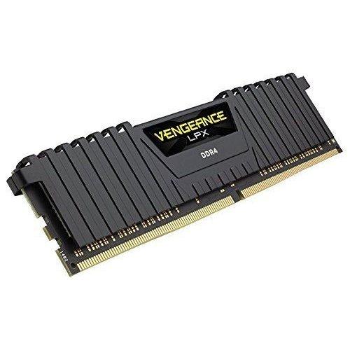 Фото ОЗУ Corsair DDR4 16GB (2x8GB) 2400Mhz Vengeance LPX Black (CMK16GX4M2A2400C16)