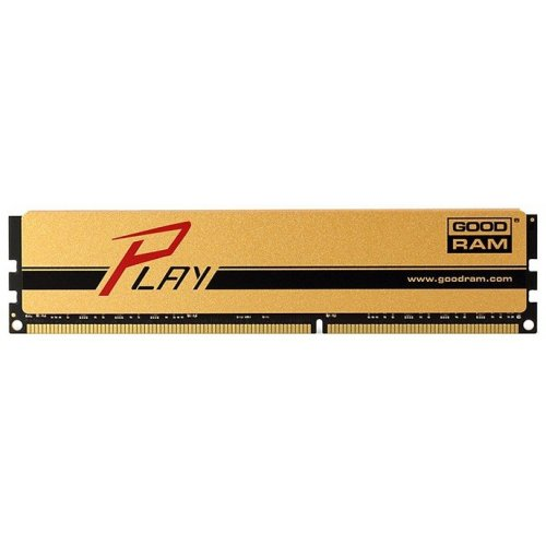 Фото ОЗУ GoodRAM DDR3 4Gb 1600Mhz Play Gold (GYG1600D364L9S/4G)