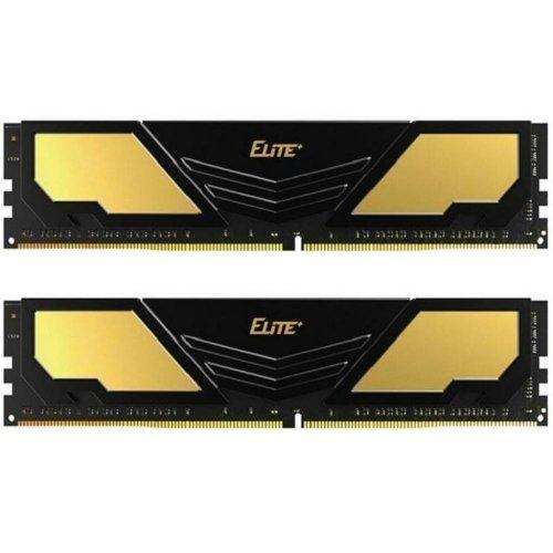 Фото ОЗУ Team DDR4 16Gb (2x8GB) 2400Mhz Elite Plus Black (TPD416G2400HC16DC01)