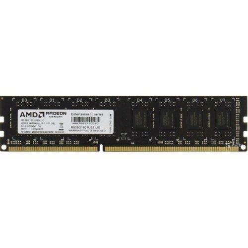 Фото ОЗУ AMD Radeon DDR3 8GB 1600Mhz (R538G1601U2S-UOBULK)