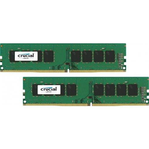 Фото ОЗУ Crucial DDR4 16GB (2x8GB) 2400Mhz (CT2K8G4DFS824A)