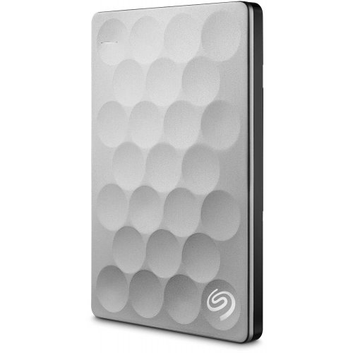Фото Внешний HDD Seagate Backup Plus Ultra Slim 1TB STEH1000200 Silver