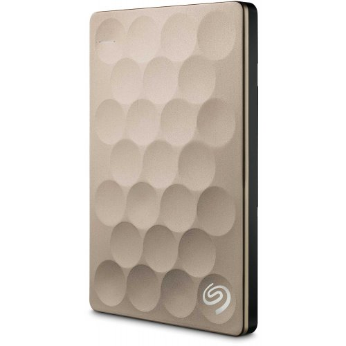 Фото Внешний HDD Seagate Backup Plus Ultra Slim 1TB STEH1000201 Gold