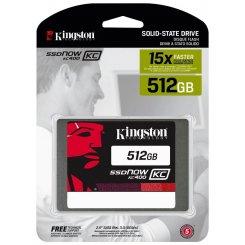 Фото SSD-диск Kingston SSDNow KC400 512GB 2.5