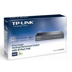 Фото Сетевое оборудование TP-LINK TL-SG1008PE